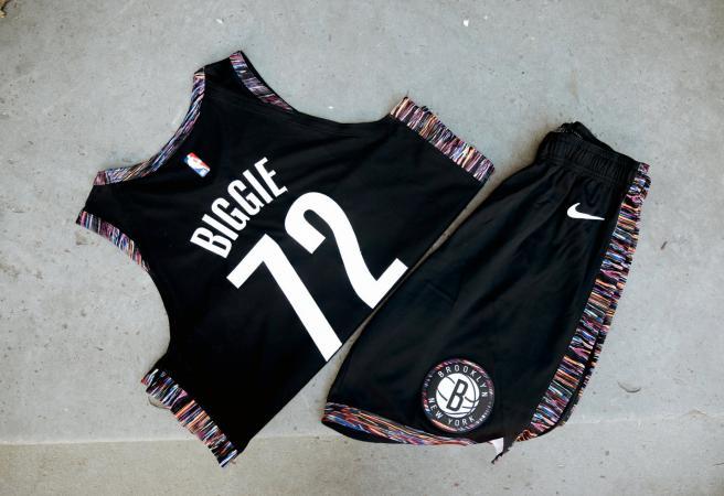 Brooklyn Nets release uniform inspired by Biggie Smalls  734bc991e