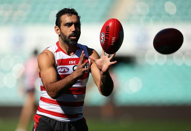 AFL clubs and players react to Adam Goodes doco