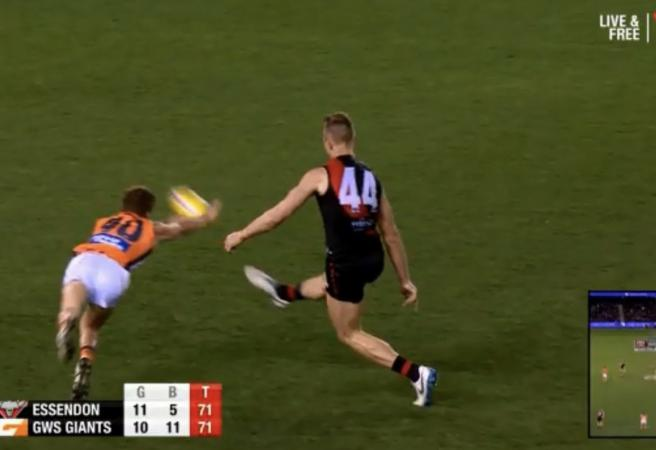 Yet another AFL score review blunder