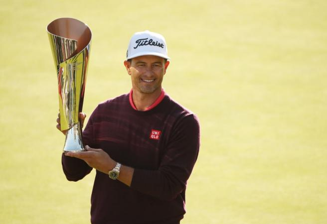Adam Scott wins first PGA Tour title in four years