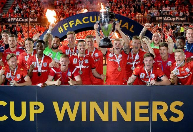Adelaide United crowned champions in FFA Cup demolition