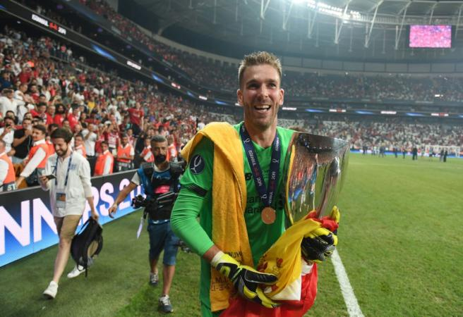 Liverpool's back-up keeper turns hero