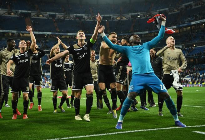 Champions League shock: But bookies still don't rate Ajax!