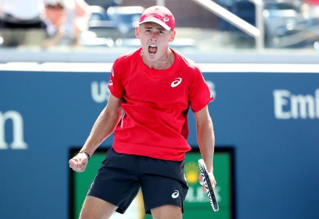 US Open: Aussie young gun stuns seventh seed