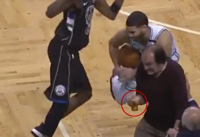 An emotional day for beer lovers at the NBA playoffs
