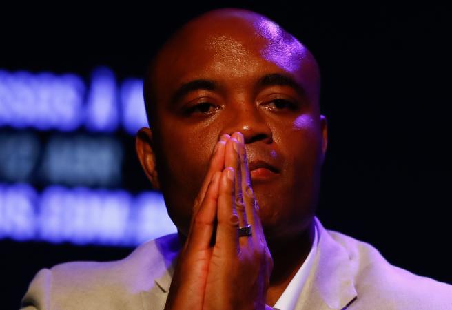 F*** him: Israel Adesanya upset with Anderson Silva