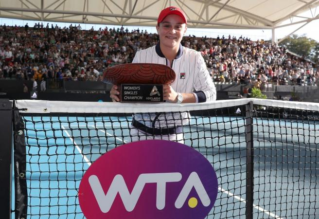 Barty Party kicks off in Adelaide