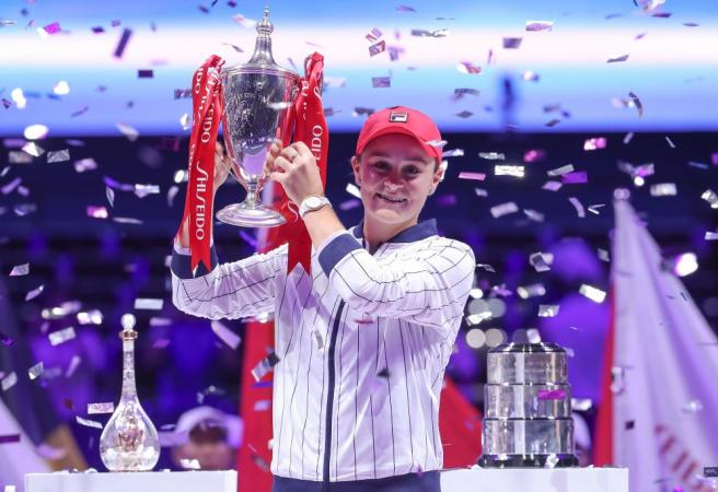 Ash Barty wins season-ending championship