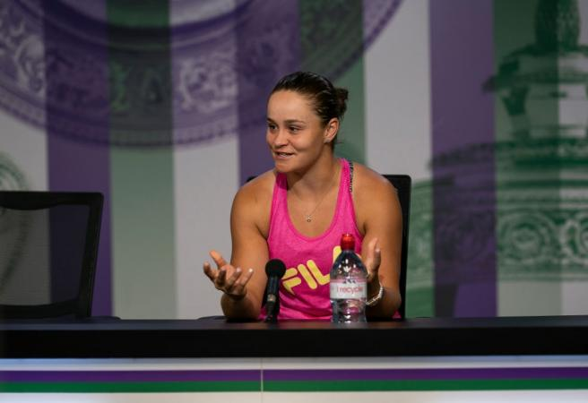 WATCH: Barty puts shock loss in perspective during brilliant post-match press conference