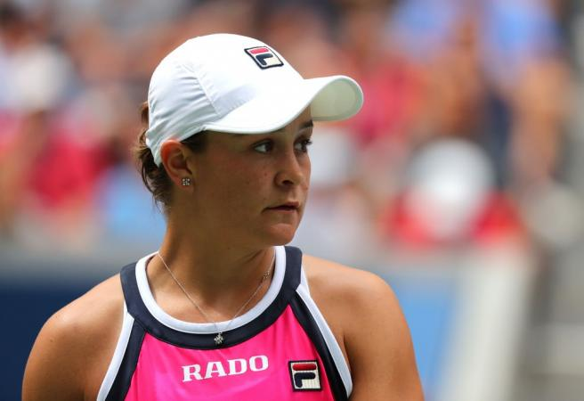 Ash Barty crashes out at Flushing Meadows