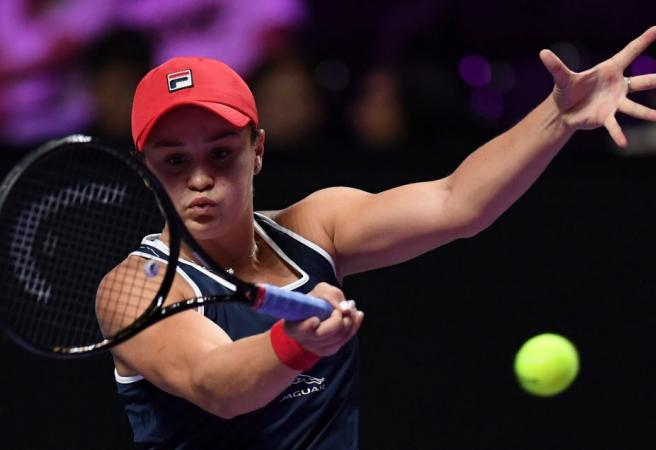 Ash Barty books her place in the Semi-Finals