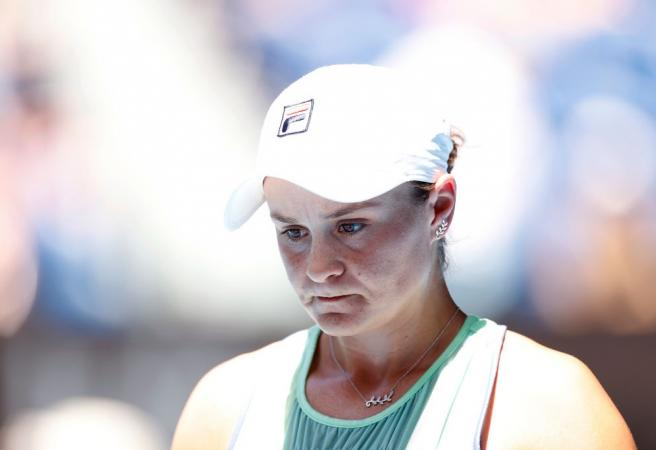Ash Barty crashes out of Australian Open
