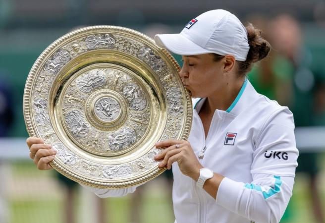 Ashleigh Barty claims epic final for maiden Wimbledon crown