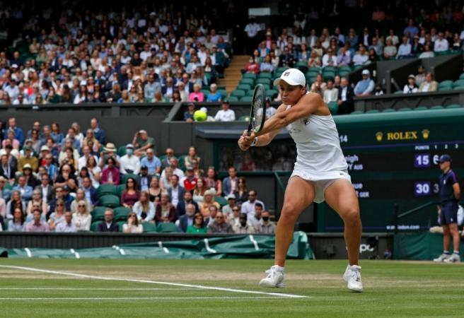 Barty storms into Wimbledon final in 41-year first