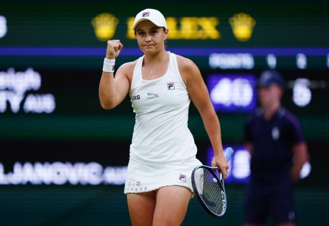 Ashleigh Barty shortens for Wimbledon winner, dares to dream