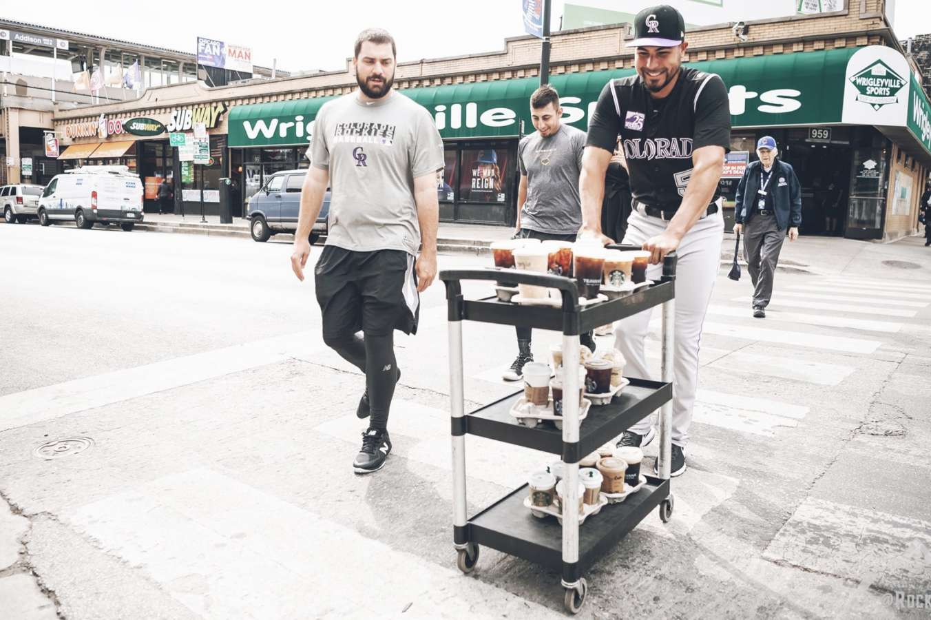 MLB rookie sent on coffee run in full uniform