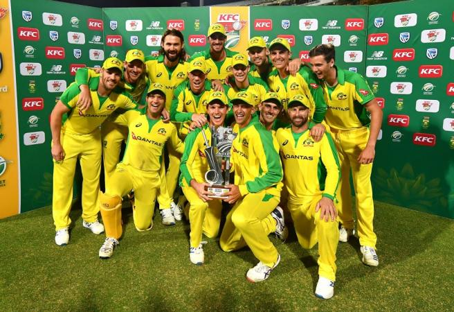 Aussies seal T20 series win with emphatic victory