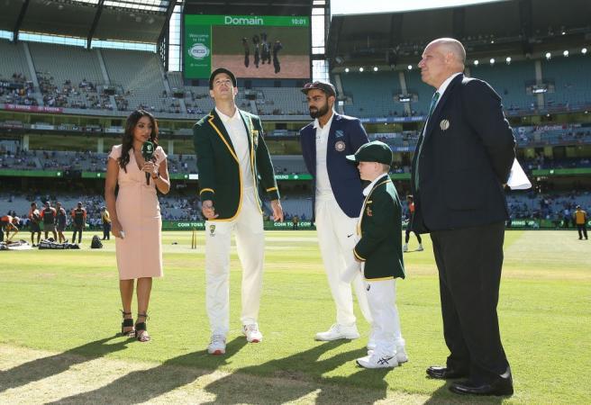When is India's tour of Australia?