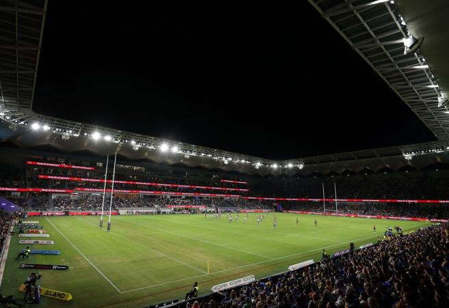 Which venues will be used by the NRL in Rounds 3-9 of 2020?