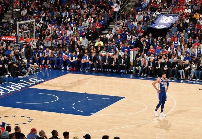 Simmons responds to Game One boos in perfect fashion
