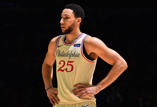 Ben Simmons buries another three on his way to career-best performance