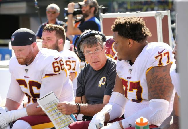 Redskins name interim coach after firing Gruden