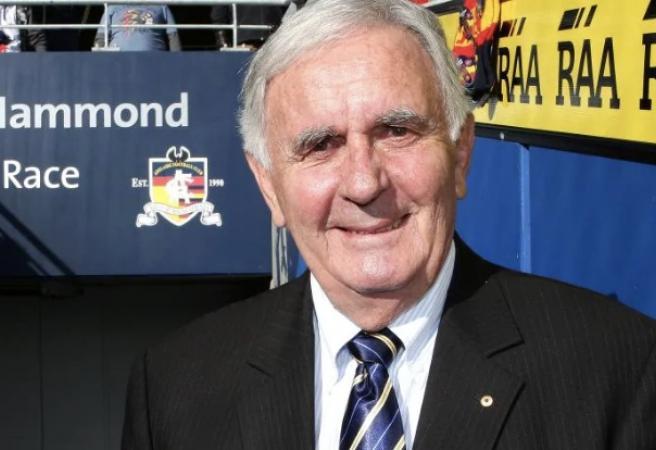 South Australian football legend Bob Hammond passes away