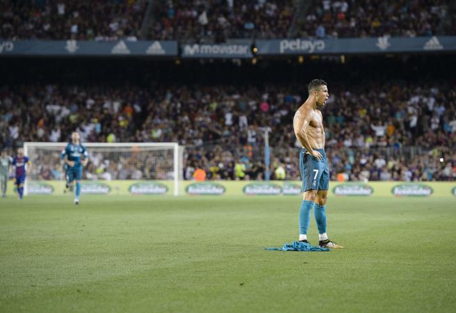 Cristiano Ronaldo's locker room antics revealed