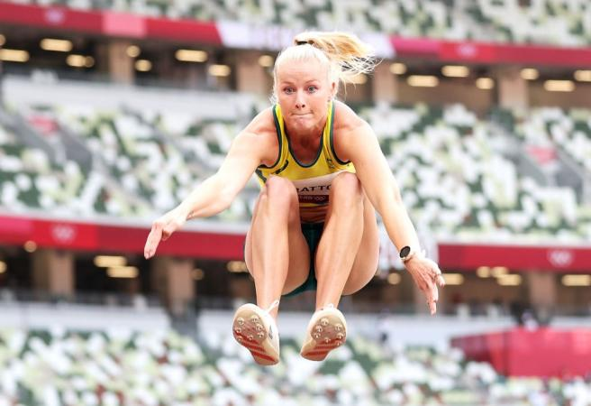 Stratton looks for long jump medal - Aussies in action Day 11