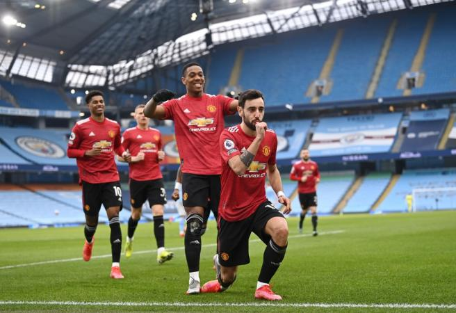 Man United shatter City's winning run