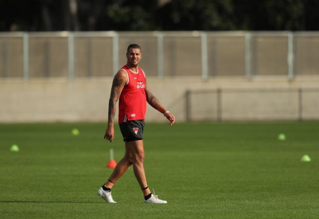 Buddy Franklin facing long stint on the sidelines due to a hamstring injury
