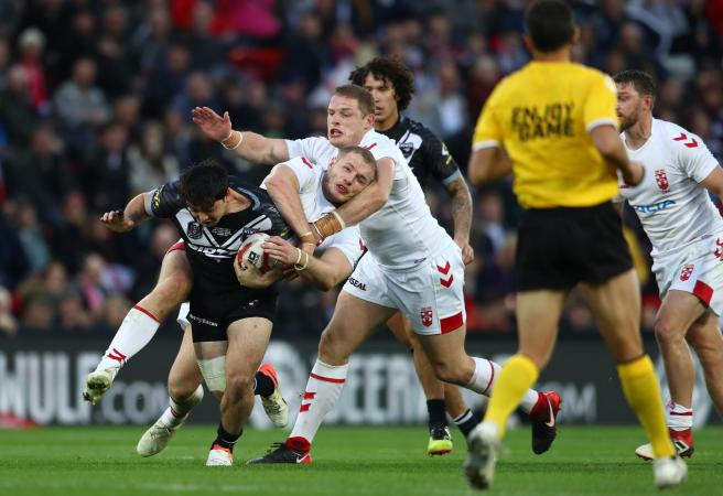 George Burgess suspended for ugly incident