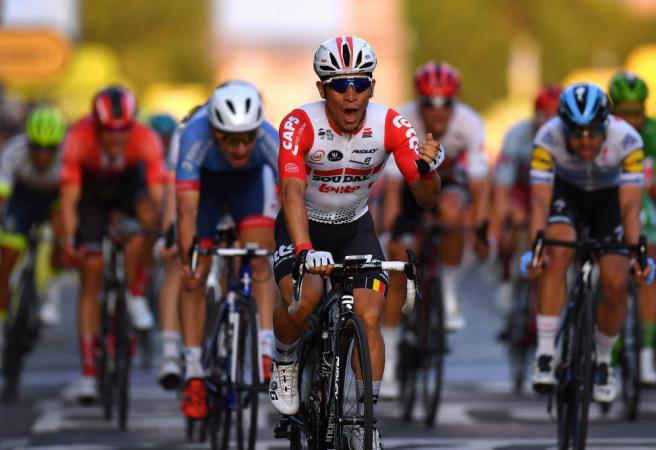 WATCH: Aussie wins prestigious final stage of Tour de France
