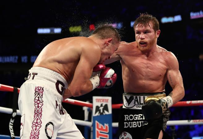 Canelo Alvarez takes out thrilling Vegas re-match
