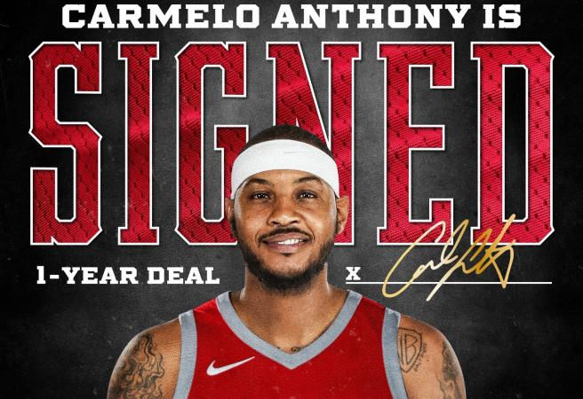 NBA ready to roll as Carmelo officially joins Houston