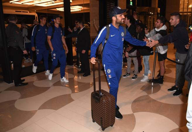 Chelsea's Long Haul: UK to Perth trip one of the longest in sport history