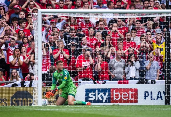 WATCH: Charlton make disastrous mistake in playoff final