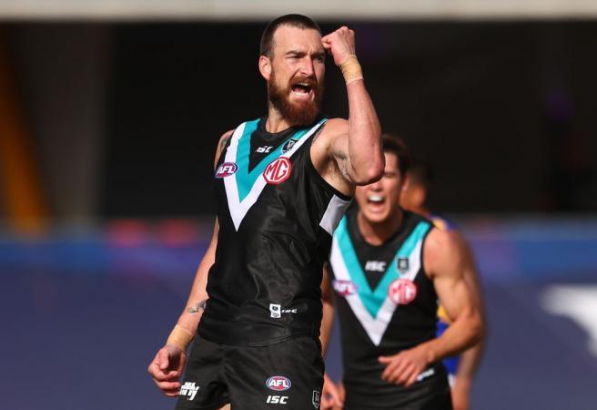 Charlie's six buries Eagles