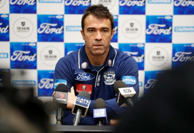 Geelong coach Chris Scott slams finals fixturing