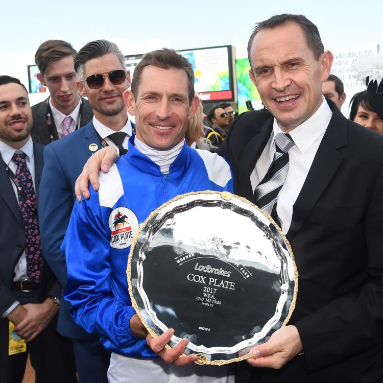 Chris Waller can relax after a huge Cox Plate build-up