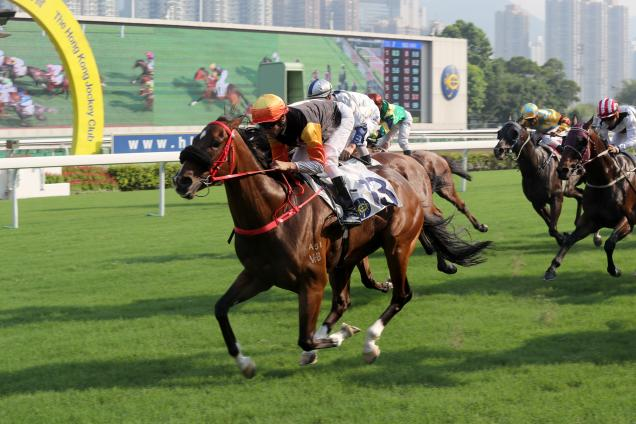 Premiere wins the Class 2 Chinese Recreation Challenge Cup Handicap