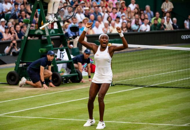 Youngest Wimbledon player in history continues her fairytale