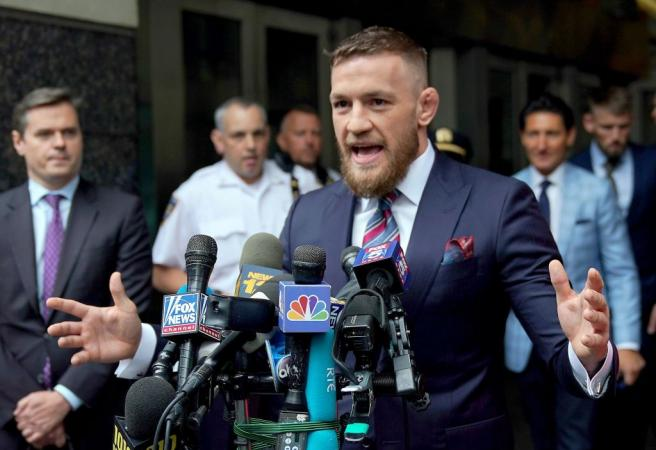 Conor McGregor announces return date