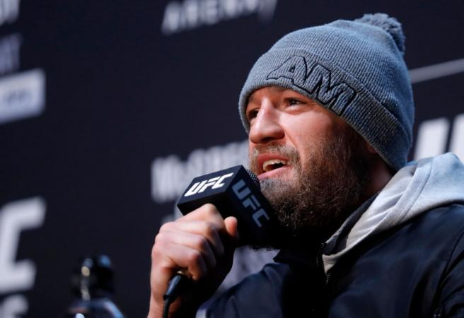 Conor McGregor causes stir after naming his top four MMA fighters of all-time