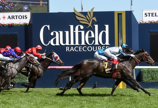Amphitrite wins the Group 1 Thousand Guineas for Darren Weir