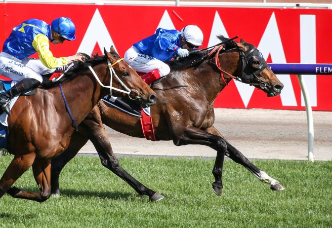 Best Of Days wins Group One Kennedy Mile at Flemington
