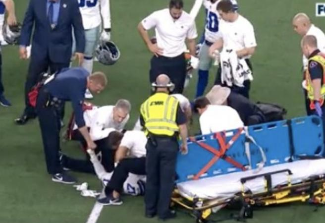 Cowboys' WR suffers gruesome injury