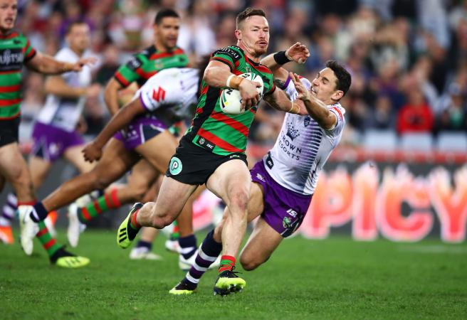 Rabbitohs bury Melbourne: Is Damien Cook's try the best of the NRL season?