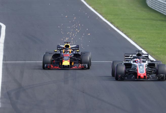 Ricciardo flips the bird in epic Hungarian GP