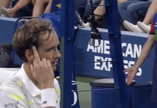 US Open: Move over Kyrgios, Medvedev throws a tantrum